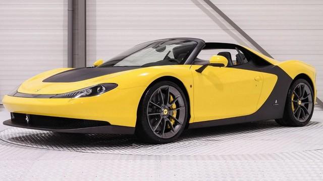 Siêu xe hiếm nhưng đã qua sử dụng Ferrari Sergio có giá không tưởng - Ảnh 1.