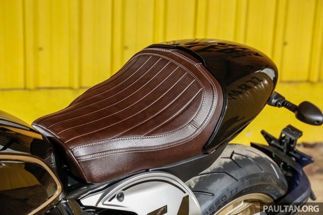 Sau Việt Nam, Ducati mang cặp đôi Scrambler Desert Sled và Café Racer đến Malaysia - Ảnh 6.