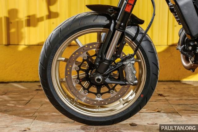 Sau Việt Nam, Ducati mang cặp đôi Scrambler Desert Sled và Café Racer đến Malaysia - Ảnh 9.