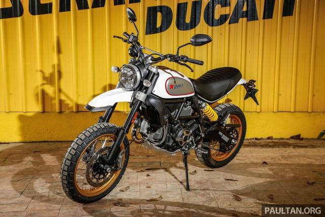 Sau Việt Nam, Ducati mang cặp đôi Scrambler Desert Sled và Café Racer đến Malaysia - Ảnh 10.