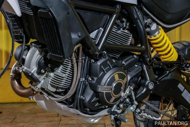 Sau Việt Nam, Ducati mang cặp đôi Scrambler Desert Sled và Café Racer đến Malaysia - Ảnh 18.