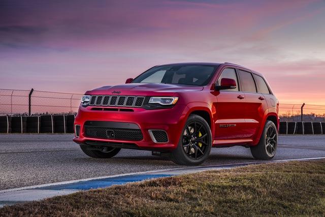 Jeep Grand Cherokee Trackhawk 2018 - xe SUV thương mại mạnh nhất thế giới - được chốt giá - Ảnh 1.