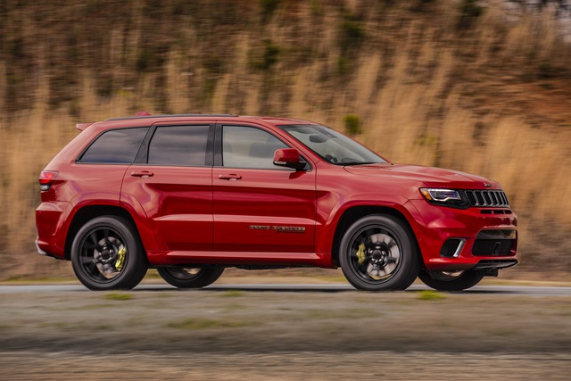 Jeep Grand Cherokee Trackhawk 2018 - xe SUV thương mại mạnh nhất thế giới - được chốt giá - Ảnh 5.