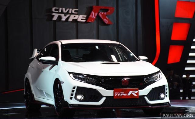 Honda Civic Type R 2017 tiếp tục ra mắt Đông Nam Á, giá từ 1,69 tỷ Đồng - Ảnh 9.