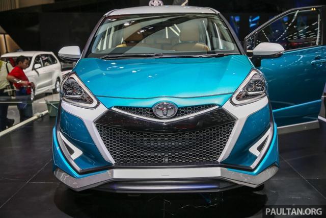 Xe gia đình Toyota Sienta lột xác từ hình tượng dễ thương sang đậm chất thể thao - Ảnh 1.