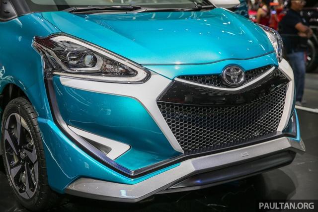 Xe gia đình Toyota Sienta lột xác từ hình tượng dễ thương sang đậm chất thể thao - Ảnh 2.