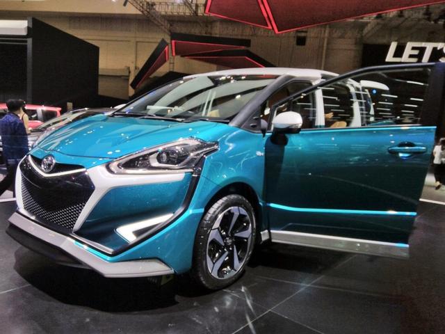Xe gia đình Toyota Sienta lột xác từ hình tượng dễ thương sang đậm chất thể thao - Ảnh 3.