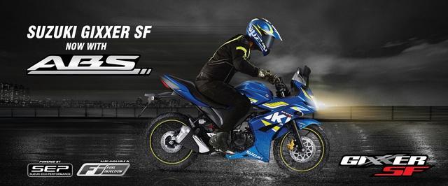 Mô tô thể thao Suzuki Gixxer SF ABS trình làng, giá từ 33,8 triệu Đồng - Ảnh 1.