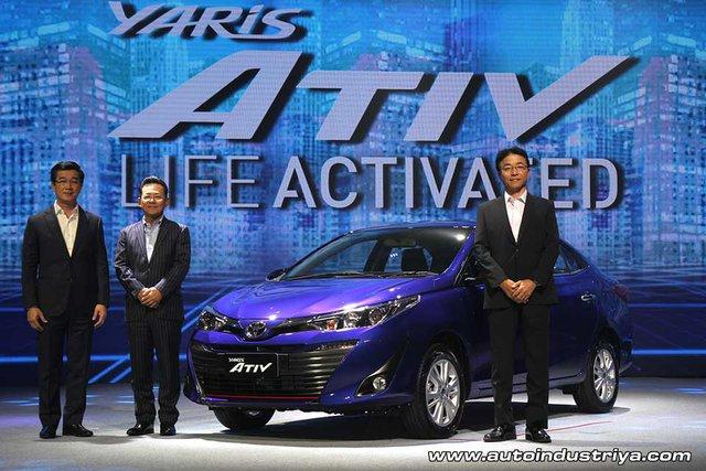 Toyota Yaris Ativ - phiên bản giá rẻ của Vios - chính thức ra mắt Đông Nam Á - Ảnh 2.