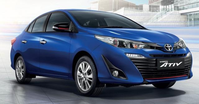 Toyota Yaris Ativ - phiên bản giá rẻ của Vios - chính thức ra mắt Đông Nam Á - Ảnh 3.
