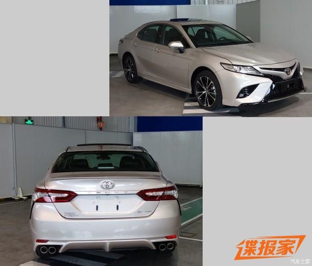 Toyota Camry 2018 phiên bản dành cho thị trường Trung Quốc lộ diện - Ảnh 1.