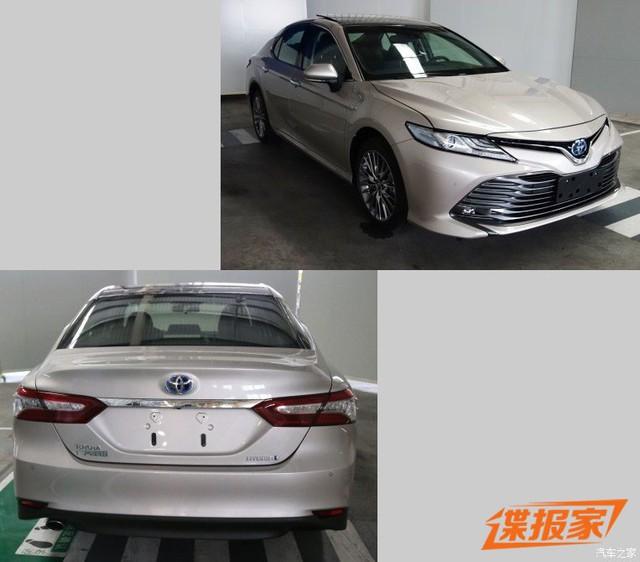 Toyota Camry 2018 phiên bản dành cho thị trường Trung Quốc lộ diện - Ảnh 2.