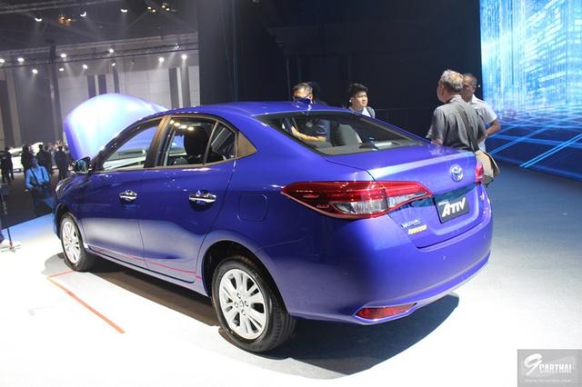 Ngắm hình ảnh bằng xương, bằng thịt của sedan giá rẻ Toyota Yaris Ativ mới ra mắt - Ảnh 7.