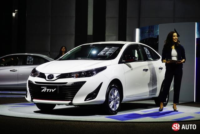 Ngắm hình ảnh bằng xương, bằng thịt của sedan giá rẻ Toyota Yaris Ativ mới ra mắt - Ảnh 8.