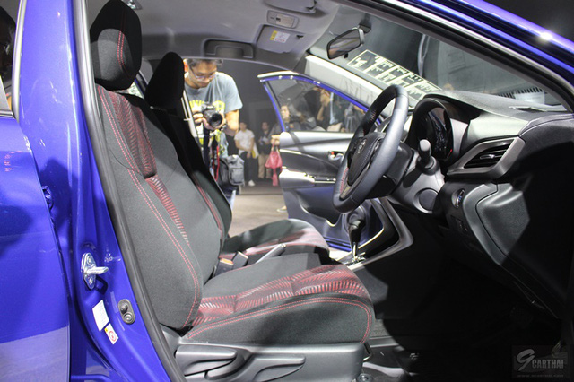 Ngắm hình ảnh bằng xương, bằng thịt của sedan giá rẻ Toyota Yaris Ativ mới ra mắt - Ảnh 10.