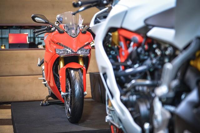 Mô tô thể thao Ducati SuperSport 2017 cập bến Đông Nam Á với giá 382 triệu Đồng - Ảnh 5.