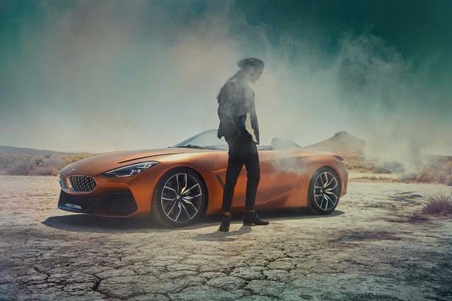 Xem trước diện mạo của xe mui trần hạng sang BMW Z4 thế hệ mới - Ảnh 1.