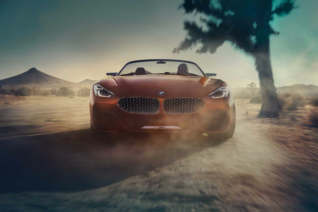 Xem trước diện mạo của xe mui trần hạng sang BMW Z4 thế hệ mới - Ảnh 2.