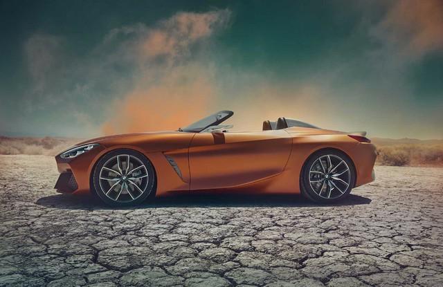 Xem trước diện mạo của xe mui trần hạng sang BMW Z4 thế hệ mới - Ảnh 4.