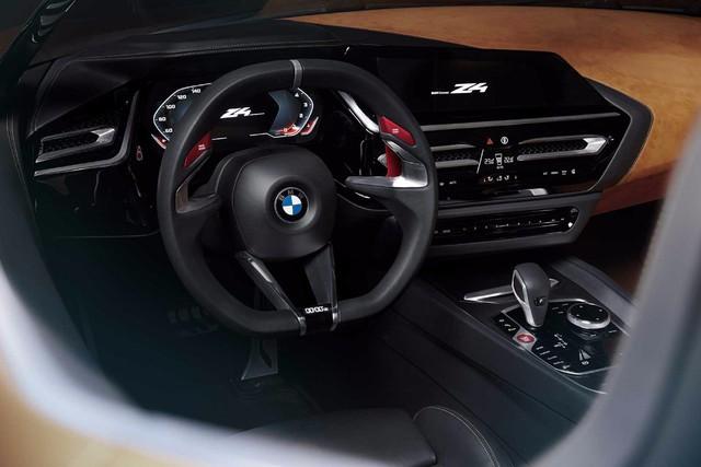 Xem trước diện mạo của xe mui trần hạng sang BMW Z4 thế hệ mới - Ảnh 8.