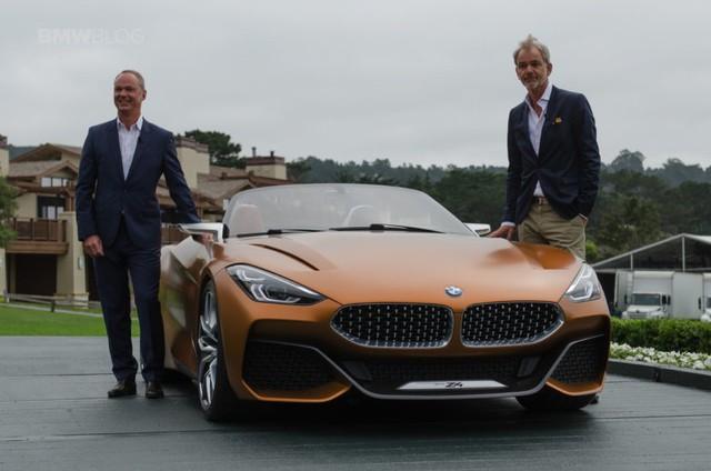 Chiêm ngưỡng vẻ đẹp của BMW Z4 Concept ngoài đời thực - Ảnh 2.
