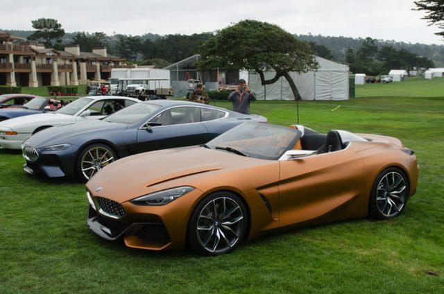 Chiêm ngưỡng vẻ đẹp của BMW Z4 Concept ngoài đời thực - Ảnh 3.