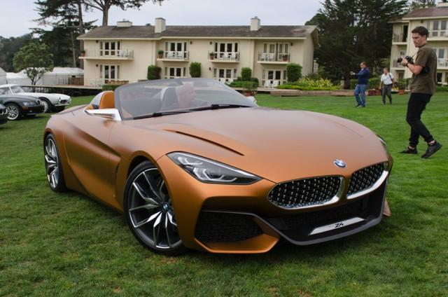 Chiêm ngưỡng vẻ đẹp của BMW Z4 Concept ngoài đời thực - Ảnh 4.