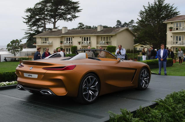 Chiêm ngưỡng vẻ đẹp của BMW Z4 Concept ngoài đời thực - Ảnh 5.