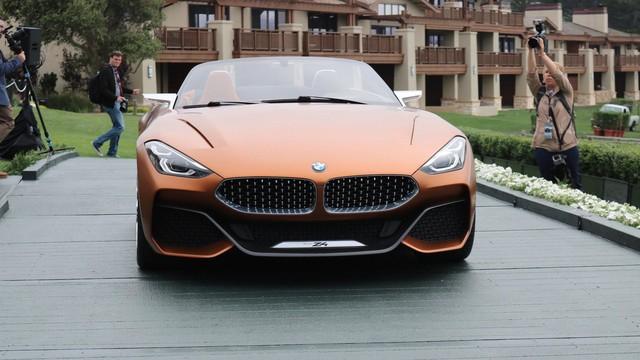 Chiêm ngưỡng vẻ đẹp của BMW Z4 Concept ngoài đời thực - Ảnh 6.