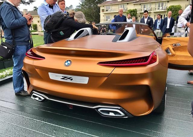 Chiêm ngưỡng vẻ đẹp của BMW Z4 Concept ngoài đời thực - Ảnh 9.