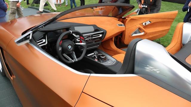 Chiêm ngưỡng vẻ đẹp của BMW Z4 Concept ngoài đời thực - Ảnh 10.