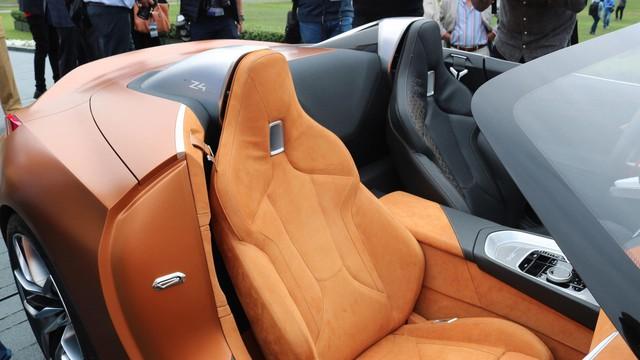 Chiêm ngưỡng vẻ đẹp của BMW Z4 Concept ngoài đời thực - Ảnh 11.