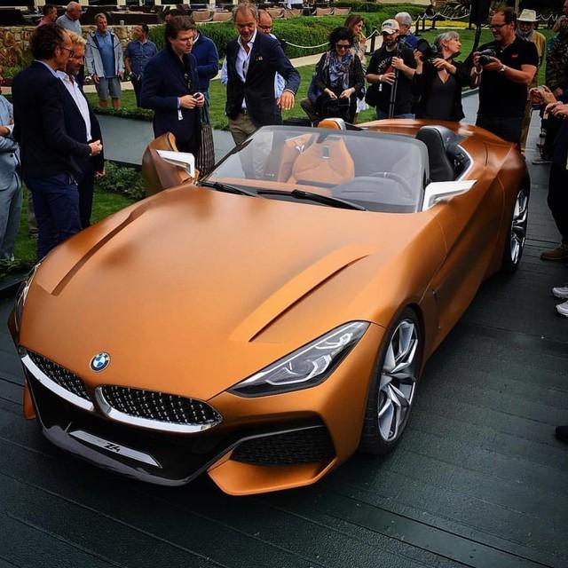 Chiêm ngưỡng vẻ đẹp của BMW Z4 Concept ngoài đời thực - Ảnh 16.