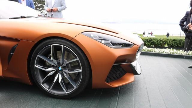 Chiêm ngưỡng vẻ đẹp của BMW Z4 Concept ngoài đời thực - Ảnh 17.