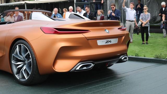 Chiêm ngưỡng vẻ đẹp của BMW Z4 Concept ngoài đời thực - Ảnh 18.