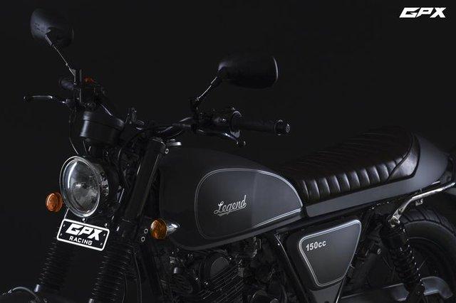 GPX Legend 150s 2017 - Xe café racer cho người mới chơi mô tô, giá chỉ 33,4 triệu Đồng - Ảnh 1.