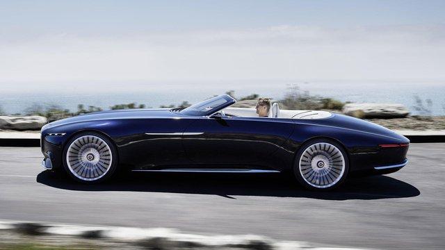 Vision Mercedes-Maybach 6 Cabriolet - Xe mui trần siêu sang tuyệt đẹp - Ảnh 4.