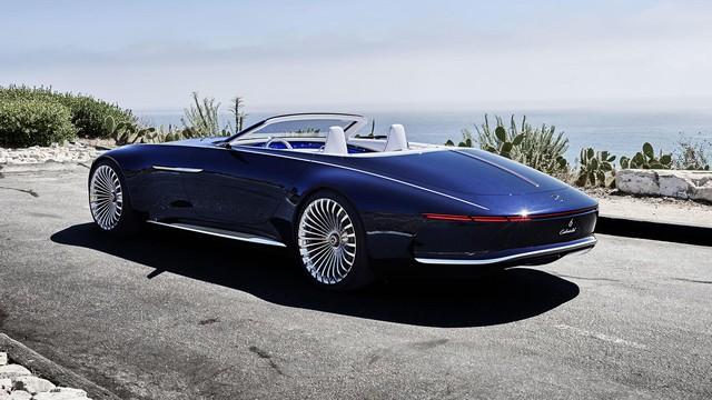 Vision Mercedes-Maybach 6 Cabriolet - Xe mui trần siêu sang tuyệt đẹp - Ảnh 5.