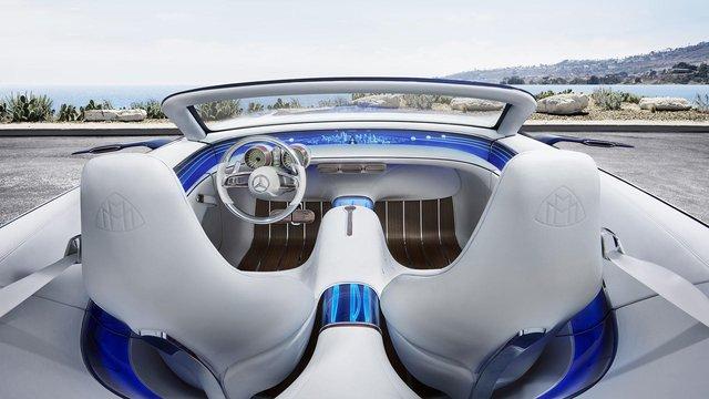 Vision Mercedes-Maybach 6 Cabriolet - Xe mui trần siêu sang tuyệt đẹp - Ảnh 7.