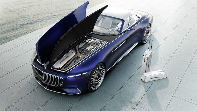 Vision Mercedes-Maybach 6 Cabriolet - Xe mui trần siêu sang tuyệt đẹp - Ảnh 8.