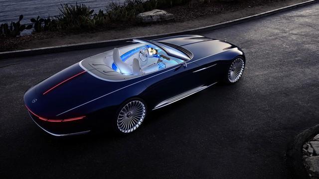 Vision Mercedes-Maybach 6 Cabriolet - Xe mui trần siêu sang tuyệt đẹp - Ảnh 9.