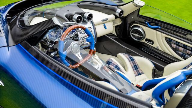 Zonda HP Barchetta - Siêu xe đặc biệt mừng sinh nhật ông chủ hãng Pagani - Ảnh 12.