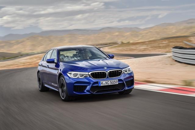 Sedan hiệu suất cao BMW M5 2018 chính thức được vén màn - Ảnh 1.
