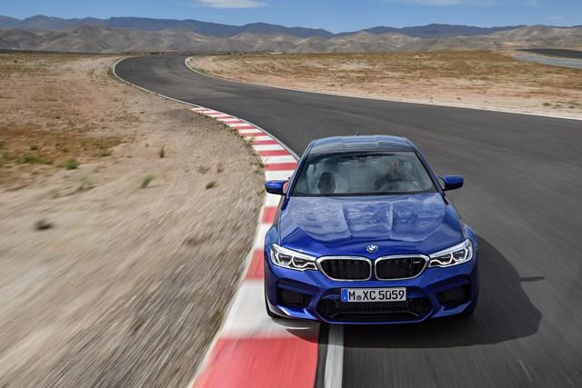 Sedan hiệu suất cao BMW M5 2018 chính thức được vén màn - Ảnh 3.