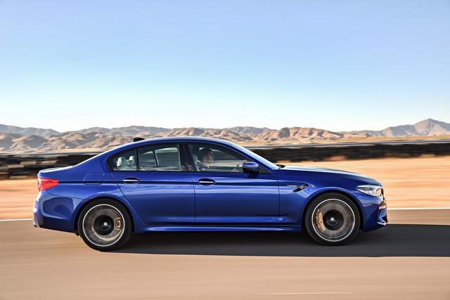 Sedan hiệu suất cao BMW M5 2018 chính thức được vén màn - Ảnh 4.