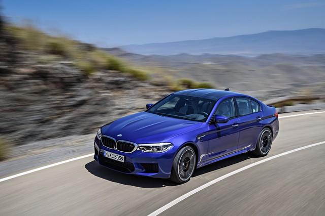 Sedan hiệu suất cao BMW M5 2018 chính thức được vén màn - Ảnh 5.