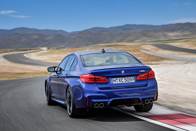 Sedan hiệu suất cao BMW M5 2018 chính thức được vén màn - Ảnh 6.