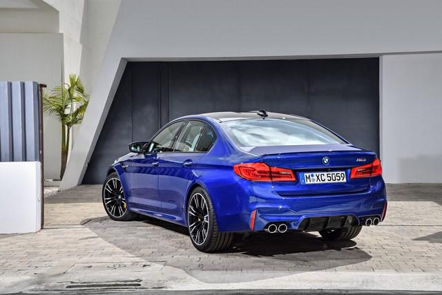 Sedan hiệu suất cao BMW M5 2018 chính thức được vén màn - Ảnh 10.