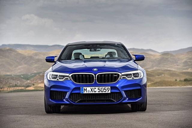 Sedan hiệu suất cao BMW M5 2018 chính thức được vén màn - Ảnh 12.