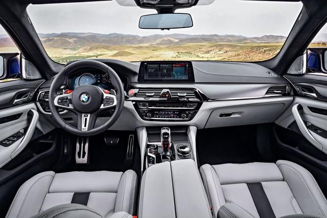 Sedan hiệu suất cao BMW M5 2018 chính thức được vén màn - Ảnh 14.